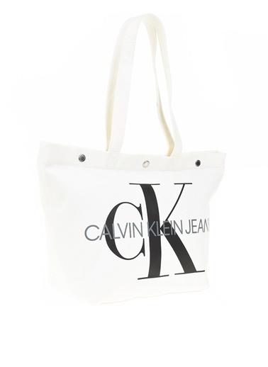 Calvin Klein Omuz Çantası Beyaz